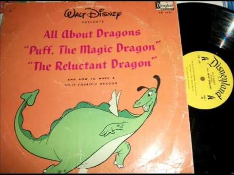 All About Dragons(Part-1) by Ed Penner & Charles Wolcott on 1966 Walt Disney-Disneyland LP.