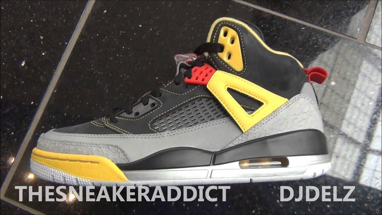 9842b81de781 2013 AIr Jordan Spizike 3M Sneaker Review With  DjDelz THe Sneaker Addict  Show