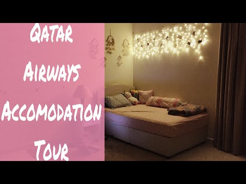 Qatar Airways Accomodation Tour ( BAHASA ) | #NVlog_007
