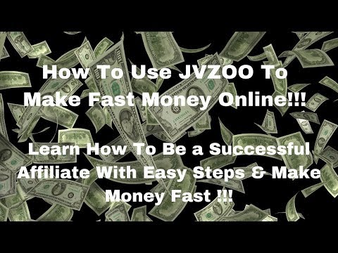 How to use JVZOO to Make Fast Money Online – How to Make Money Online Quick and Easy steps