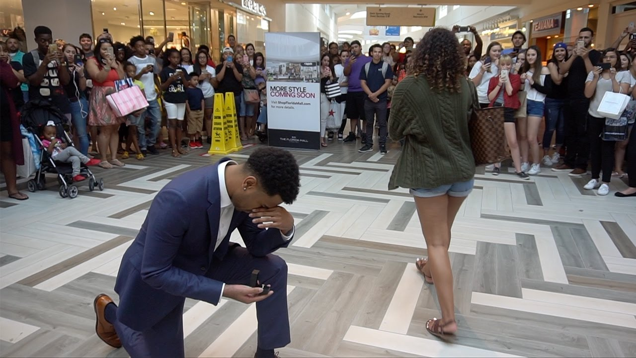 MARRIAGE PROPOSAL GONE WRONG!! SHE SAID NO!!! 😳😨😢 - YouTube
