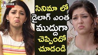 REEL Vs REAL | Mehreen Mahanubhavudu Movie Dialogue | Sharwanand | Thaman S | Maruthi |Telugu Cinema