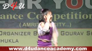 D4U Dance Academy Student Guntaas Bal Song Sharara Sharara