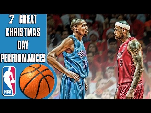7 of the best NBA Christmas performances