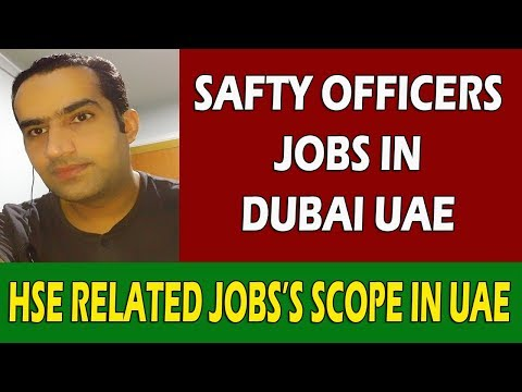 Jobs In Dubai For Safety Officers