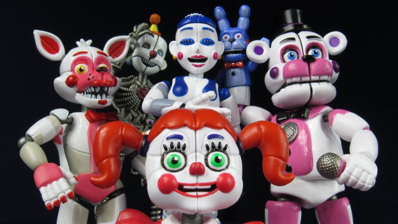 Funko Fnaf Wave 3 Sister Location Set Review Baby
