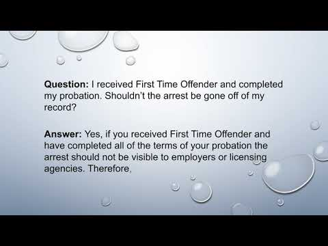 First Time Offender, Georgia, Expungement.