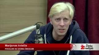 """""""Marijonas Kviečia"""": Marijus Mikutavičius ir Saulius Prūsaitis"""