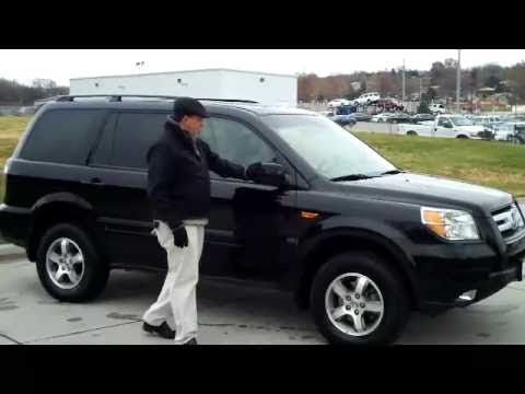 certified used 2008 honda pilot ex l 4wd for sale at honda cars of bellevue youtube. Black Bedroom Furniture Sets. Home Design Ideas
