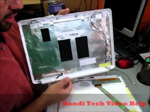 HP Pavilion DV5 Monitor Hinges Repair - Part1