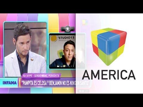 En Chile afirman que Pampita y Vicuña  llevan dos meses separados