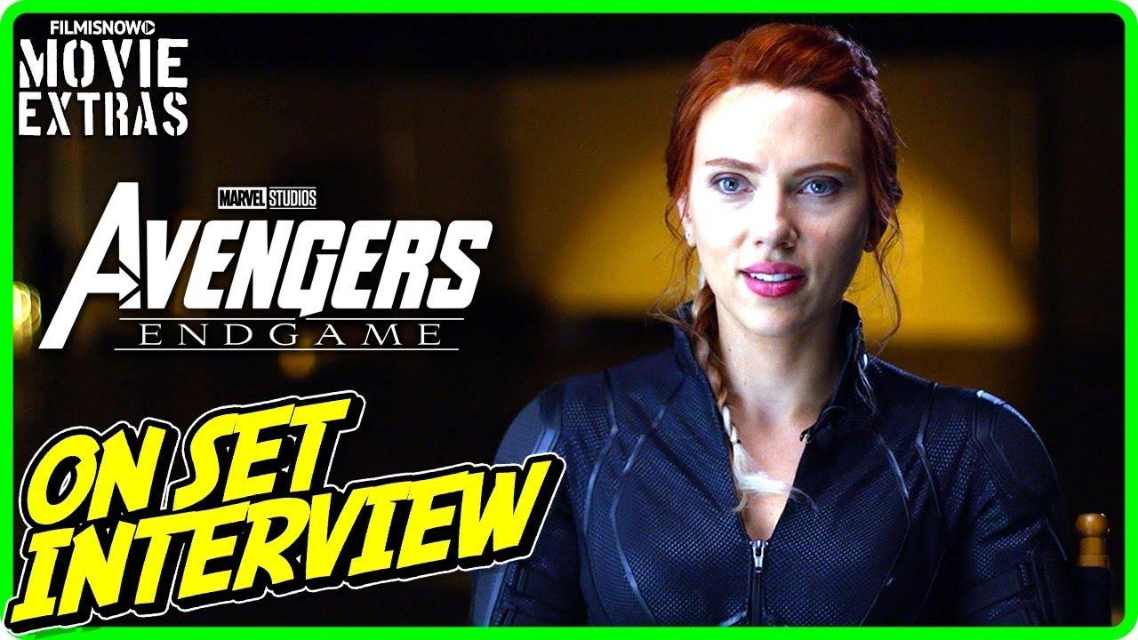 AVENGERS: ENDGAME | On-set Interview with Scarlett Johansson