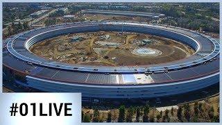 Apple Park : un théâtre en hommage à Steve Jobs (01LIVE)