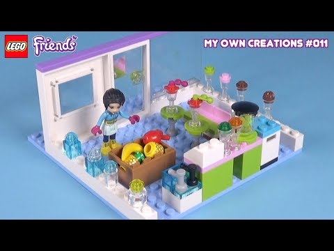 Juice Bar 1 | LEGO Friends My Own Creations #011