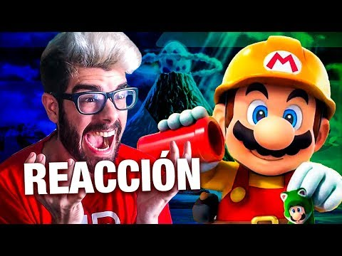 REACCIÓN ZELDA LINK'S AWAKENING Y SUPER MARIO MAKER 2 NINTENDO SWITCH!! NINTENDO DIRECT 13.02.2019