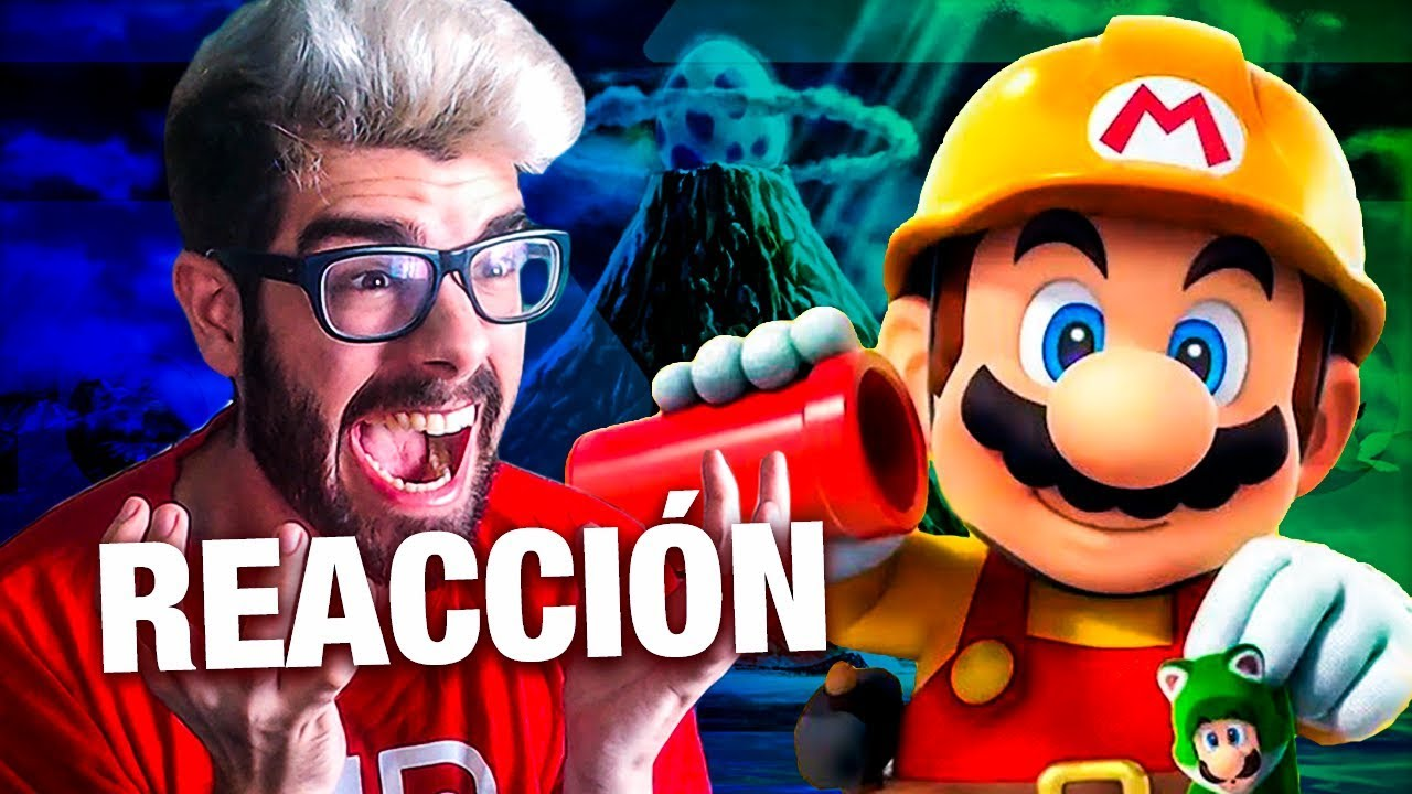 REACCIÓN SUPER MARIO MAKER 2 Y ZELDA LINK'S AWAKENING NINTENDO SWITCH!! NINTENDO DIRECT 13.02.2