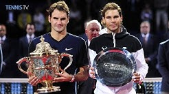 2015 Swiss Indoors Basel Final - Roger Federer v Rafael Nadal Highlights