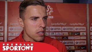 Jan Bednarek po meczu Polska - Chile 2:2