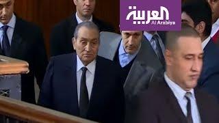 مبارك يطل على المصريين بمظهر أعاد للأذهان صورته إبان حكمه