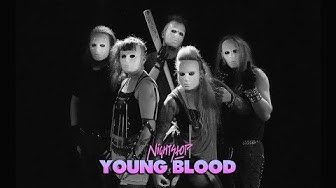 NightStop - Young Blood // Official Video ✝ (Retrowave, 80s Electro)