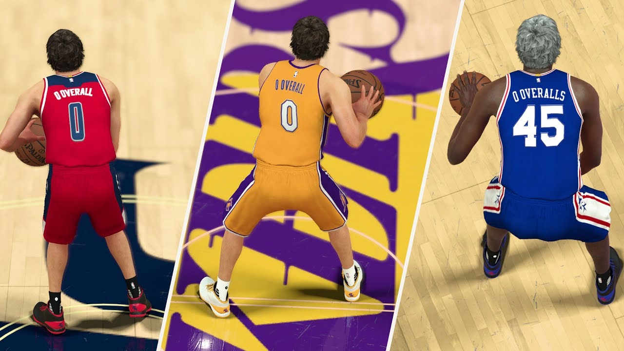 a1231799863e WHAT IF EVERY PLAYER WAS A 0 OVERALL  NBA 2K17 GAMEPLAY! - YouTube
