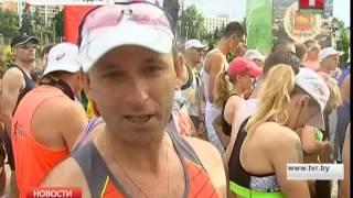 В Гродно прошел пятый трансграничный марафон