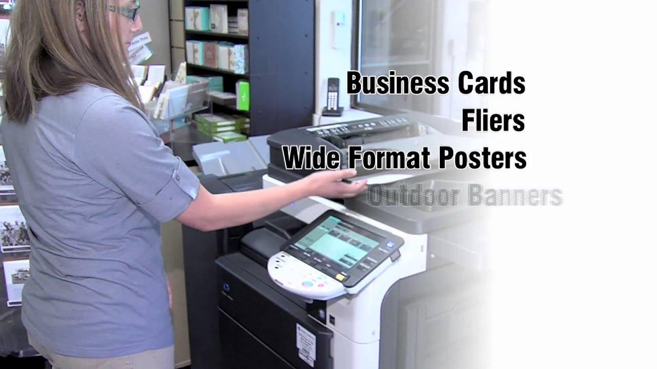 ups store printing