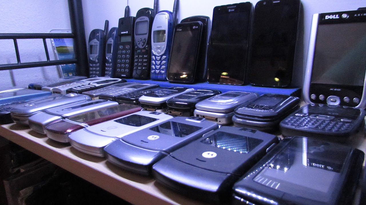 Cell Phone Collection (March 2015)