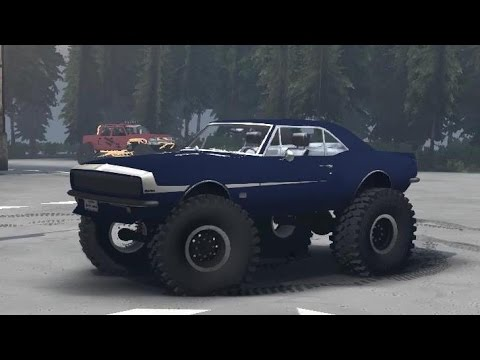 High Volts Gaming - Spintires 1967 Chevy Camaro 4X4 ...
