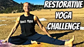 Full Hip Stretch Class - Day 2 - Restorative Yoga Challenge