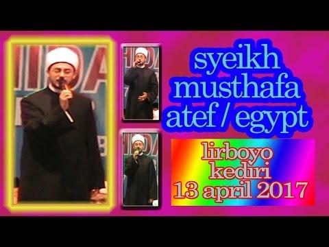 syech mustapha atef from EGYPT in lirboyo kediri east java indonesia 13 april 2017