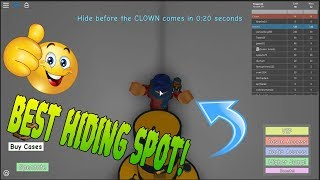 Roblox The Clown Killings Part 2 | Best Hiding Spots Part 1