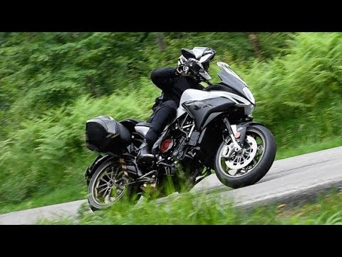 2019 mv agusta turismo veloce 800 lusso scs first ride review youtube. Black Bedroom Furniture Sets. Home Design Ideas