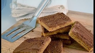 Peanut Butter Bars - The Lunchroom Lady's Recipe | Radacutlery.com