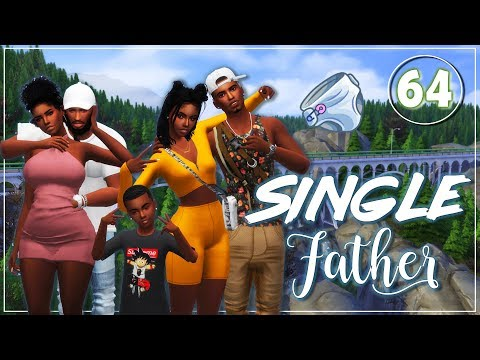 The Sims 4 😍Single Father😍 #64 Dallas is in LABOR thumbnail