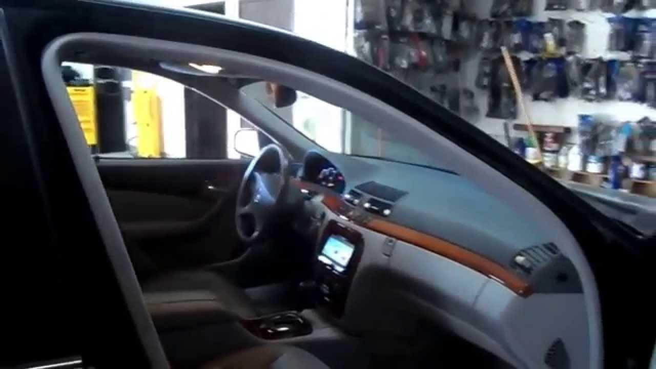 custom car audio stereo ventura Mercedes benz S430 2001 AVICX150BHS  YouTube