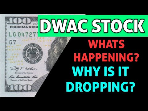 Download DWAC STOCK IMPORTANT ANALYSIS! - WHY DID THIS STOCK DROP TODAY!? & WHAT COMES NEXT? *WARNING!!*