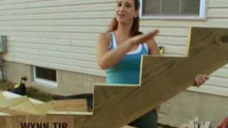 Building Outdoor Wooden Stairs Diy Network Youtube | Outside Steps For Sale | Wood | Iron | Handrail | Pensacola | Door