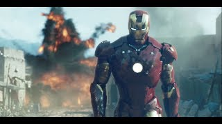 Miah and Luke see a Trailer: Ironman