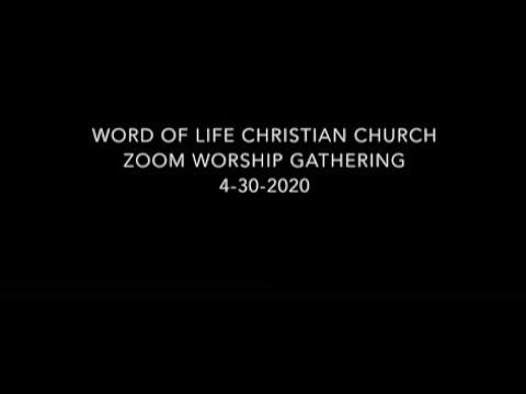 WLCC Thursday Night Worship Service 04/22/20