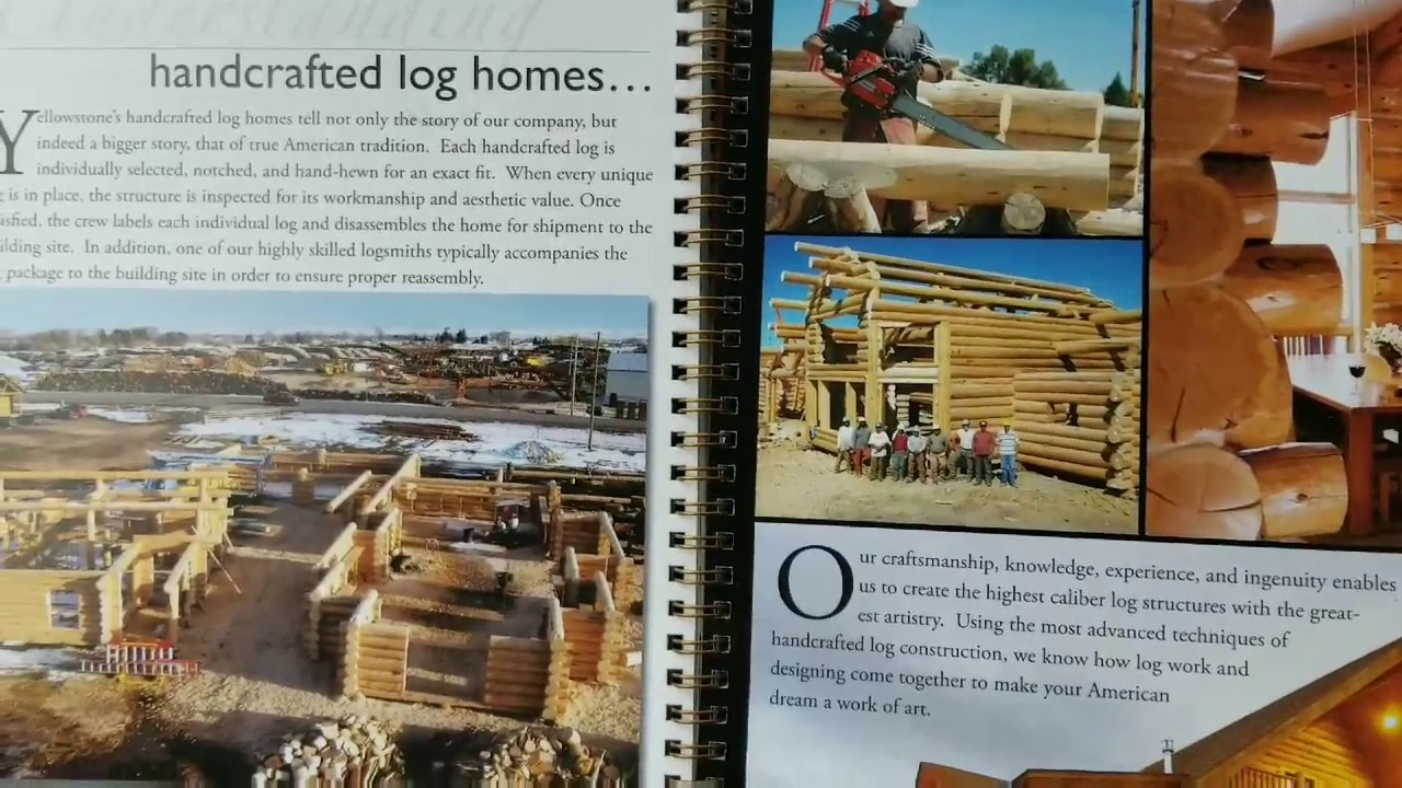 LOG CABIN BUILD, Cabin styles and interior finishes