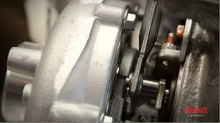 How to install a turbocharger.