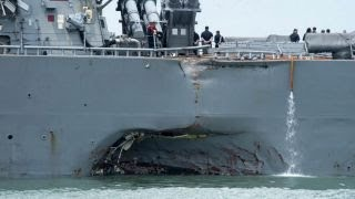 What is to blame for recent Navy ship incidents?