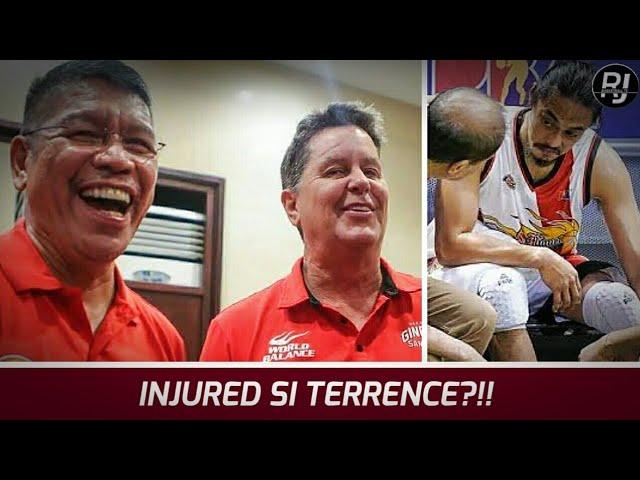 TERRENCE HINDI MAKAKAPAGLARO KONTRA GINEBRA!? | Injured si Terrence Romeo