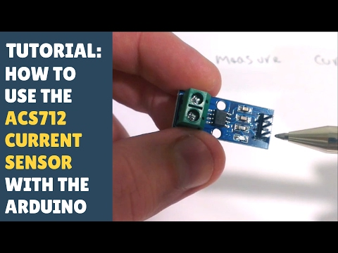 TUTORIAL: How to use the ACS712 hall effect current sensor m