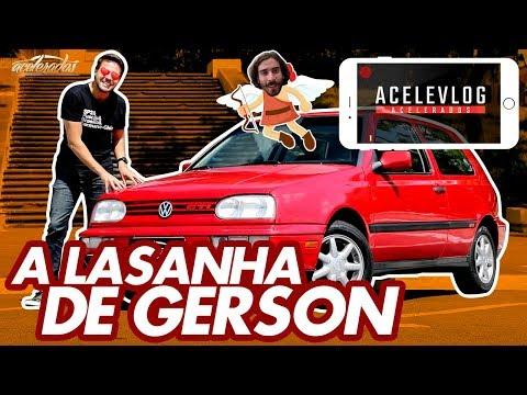 GERSON MOSTRA TUDO DO GOLFÃO GTI 1994, SEU NOVO XODÓ! - ACELEVLOG #39 | ACELERADOS