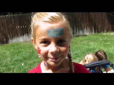 FACE PAINTING IN IDAHO!