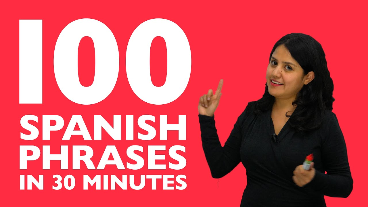 Phrases you should know in spanish