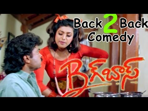 Chiranjeevi & Roja Back To Back Comedy...