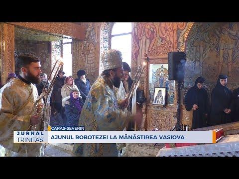 Ajunul Bobotezei la Mănăstirea Vasiova